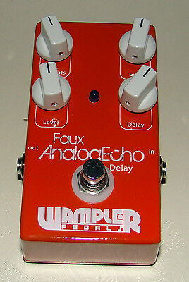 Wampler Faux Analog Echo USA Delay Guitar Effects Pedal