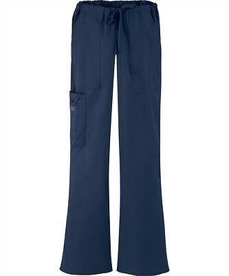 Scrubs Cherokee Workwear Core Stretch Cargo Pant 4044 Navy  FREE SHIPPING!