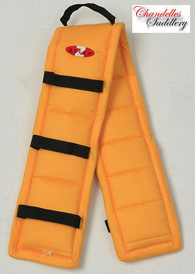 ZILCO DRIVA PUFFER PAD YELLOW Carriage Driving Harness Saddle Pads ALL SIZES