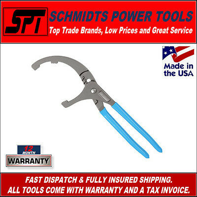 """Channellock 212 12"""" Pvc Pipe Pliers & Oil Filter Remover Tool - New"""