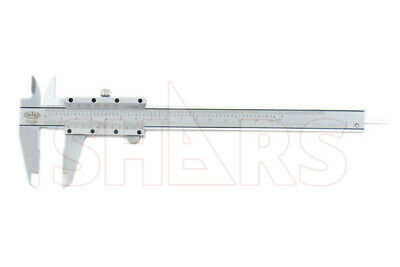 "SHARS .001""/.02MM 6"" Precision Vernier Caliper NEW"