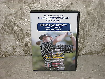 PGA TOUR PARTNERS CLUB - DRIVING FOR DISTANCE AND ACCURACY DVD Golf Tom Lehman