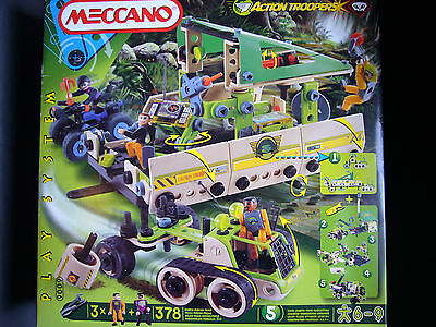 Meccano Action Troopers Play System 9009 378 Teile NEU*