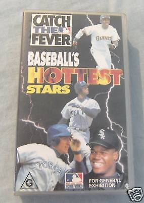 Vhs Video - Baseball's Hottest Stars