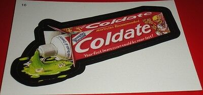 Wacky Packages Series 3 #16 Coldate