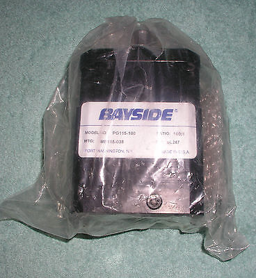 Bayside stealth 2600in lbs torque 3800rpm 3 for Parker bayside frameless torque motors