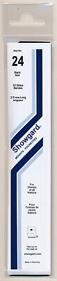 Showgard Stamp Mounts Size 24/215 BLACK Background Pack of 22