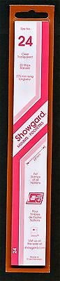 Showgard Stamp Mounts Size 24/215 CLEAR Background Pack of 22
