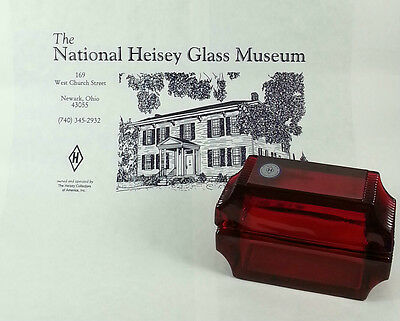 Heisey by Mosser Red Card Case