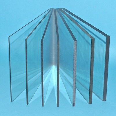 Clear Solid Acrylic Sheet Cut To Size