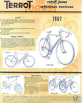 *pub Terrot Velo Cycle 1957