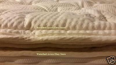 Organic Cotton Pillowtop Cover For Queen Softside Pillow Top Waterbed Mattress