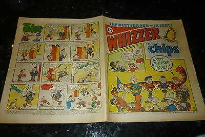 WHIZZER & CHIPS Comic - Date 03/01/1981 - UK Paper Comic