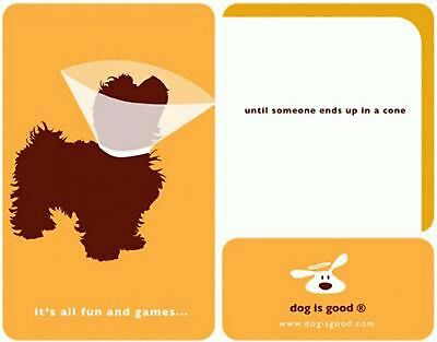 Canine Get Well Card with Envelope DOG IS GOOD  NIP **FREE SHIPPING**