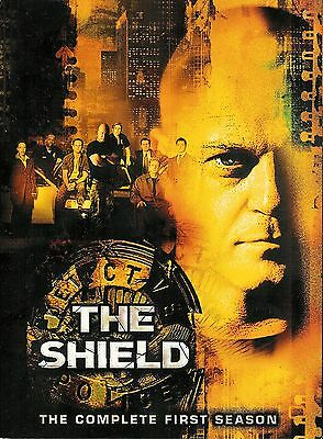 The Shield ~ The Complete First 1st Season ~ 4-Disc DVD Set ~ FREE Shipping USA