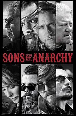 Sons Of Anarchy Samcro Cast Collage Poster New  !