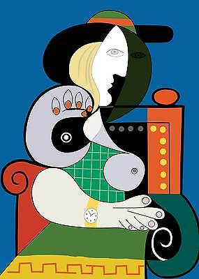 Picasso # 06 cm 35x50 Poster Affiche Plakat Cartel Stampa Grafica Art papiarte