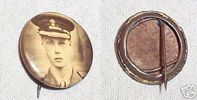 Edward Viii Metal Badge
