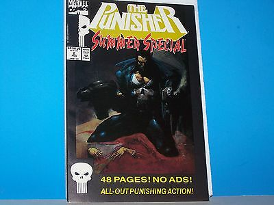 MARVEL COMICS THE PUNISHER Summer Special Aug # 2 48 Pages! No ads!