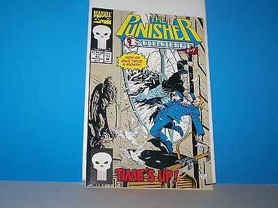 Marvel Comics The Punisher Eurohit 4 Of 7 Time's Up   # 67 Early Aug 1992