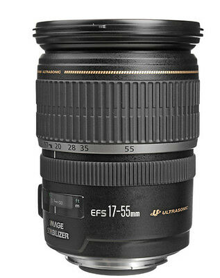 Canon EF-S 17-55mm f/2.8 IS USM Zoom Lens For Canon Free Express