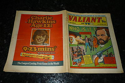 "VALIANT & TV21 Comic - Date 20/10/1973 - Inc ""STAR TREK"" Adventure - UK Comic"