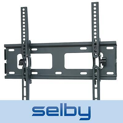 "23-40"" Inch Slimline Universal Tilt LCD LED TV Wall Mount Bracket Black Selby"