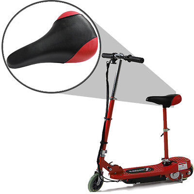 Kids Ride On Red Fast Electric Scooter Escooter Removable Seat Battery Operated