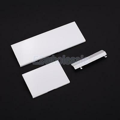 3 Replacement Plastic Door Slot Cover Lid for Nintendo Wii Console System White