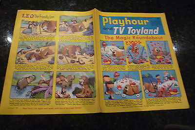 "PLAYHOUR & TV TOYLAND - (1968) - Date 26/10/1968 -  Inc ""The Magic Roundabout"""