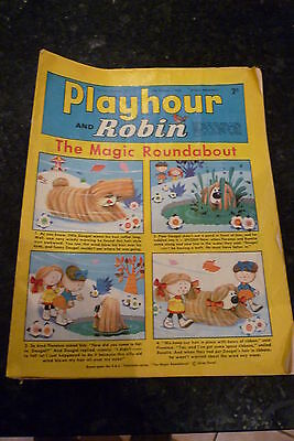"PLAYHOUR & ROBIN - (1969) - Date 08/02/1969 -  Inc ""The Magic Roundabout"""