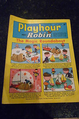 "PLAYHOUR & ROBIN - (1969) - Date 22/03/1969 -  Inc ""The Magic Roundabout"""