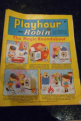 "PLAYHOUR & ROBIN - (1969) - Date 05/07/1969 -  Inc ""The Magic Roundabout"""