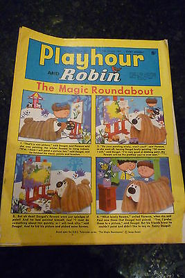 "PLAYHOUR & ROBIN - (1970) - Date 10/01/1970 -  Inc ""The Magic Roundabout"""