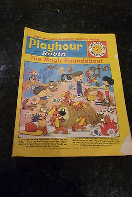 "PLAYHOUR & ROBIN - (1972) - Date 18/03/1972 -  Inc ""The Magic Roundabout"""