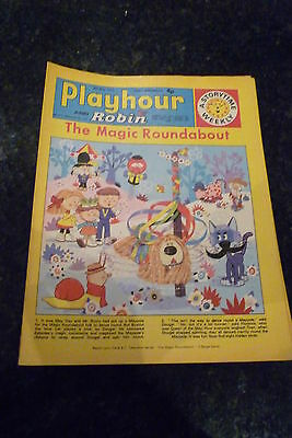 """PLAYHOUR & ROBIN - (1972) - Date 06/05/1972 -  Inc """"The Magic Roundabout"""""""