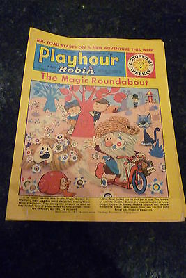 "PLAYHOUR & ROBIN - (1972) - Date 13/05/1972 - Inc ""The Magic Roundabout"""