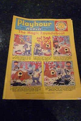 "PLAYHOUR & ROBIN - (1972) - Date 20/05/1972 -  Inc ""The Magic Roundabout"""