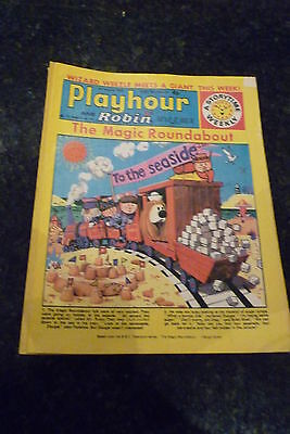 "PLAYHOUR & ROBIN - (1972) - Date 05/08/1972 -  Inc ""The Magic Roundabout"""