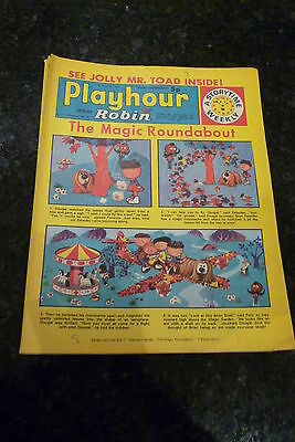 "PLAYHOUR & ROBIN - (1972) - Date 11/11/1972 -  Inc ""The Magic Roundabout"""
