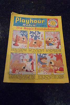 "PLAYHOUR & ROBIN - (1973) - Date 17/03/1973 -  Inc ""The Magic Roundabout"""