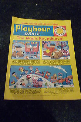 "PLAYHOUR & ROBIN - (1973) - Date 07/04/1973 -  Inc ""The Magic Roundabout"""