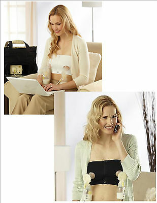 MEDELA EASY EXPRESSION BUSTIER HANDS FREE PUMPING BRA  New!