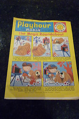"""PLAYHOUR & ROBIN - (1973) - Date 28/04/1973 -  Inc """"The Magic Roundabout"""""""