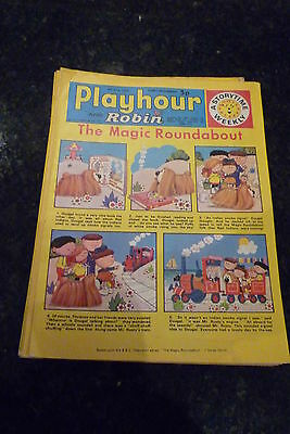 "PLAYHOUR & ROBIN - (1973) - Date 09/06/1973 - Inc ""The Magic Roundabout"""
