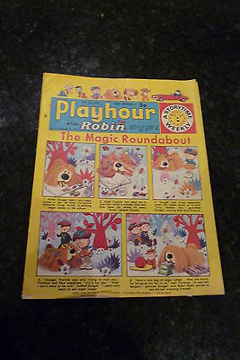 "PLAYHOUR & ROBIN - (1973) - Date 28/07/1973 - Inc ""The Magic Roundabout"""