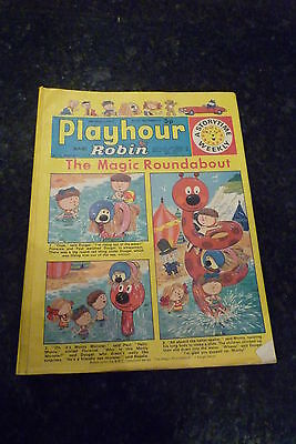 "PLAYHOUR & ROBIN - (1973) - Date 04/08/1973 -  Inc ""The Magic Roundabout"""
