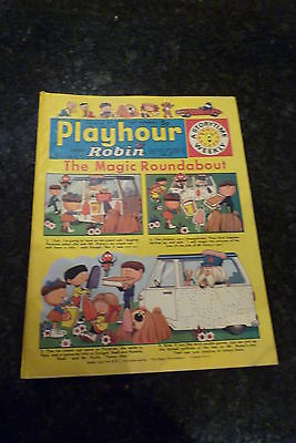 "PLAYHOUR & ROBIN - (1973) - Date 11/08/1973 - Inc ""The Magic Roundabout"""