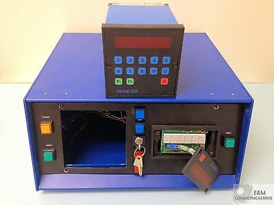 8031 8007 Trumeter Electronic Digital Counters With Key Lock Enclosure