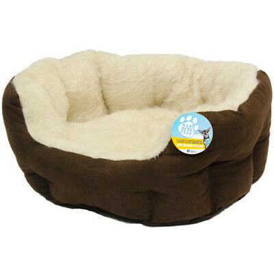 Me & My Small Soft Dog/cat/pet Bed Fully Washable Xs/s/ Luxury/furry/comfy Puppy